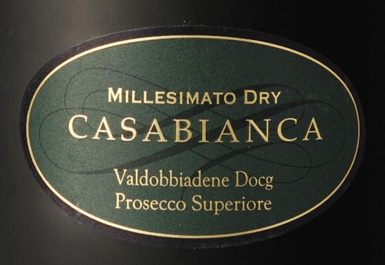 Valdobbiadene Prosecco DOCG Superiore Millesimato Dry