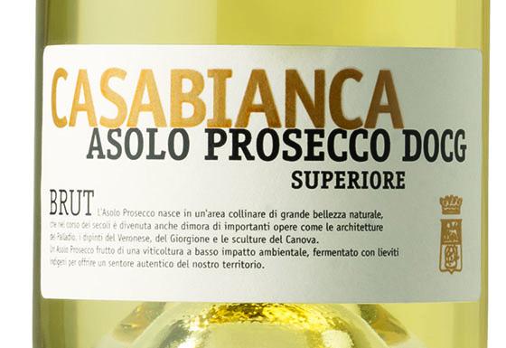 Asolo Prosecco DOCG – etichetta ORO